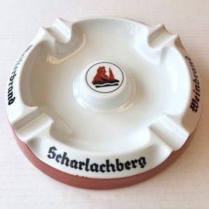 Vintage Scharlachberg Weinbrand Cigar Ashtray
